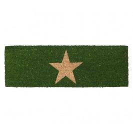 Vchodová rohožka Star Green 25x75 cm