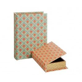 Sada 2 krabic ve tvaru knihy Eyes