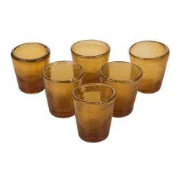 Sada 6 sklenic na panáky Wheezed Amber 40 ml