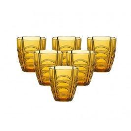 Sada 6 sklenic Luxor Amber 320 ml
