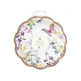 Sada 12 jednorázových talířů Fairy