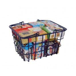 Dětský nákupní košík s příslušenstvím Blue