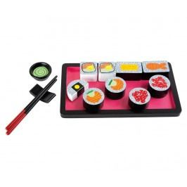 Sada sushi na hraní Tokyo