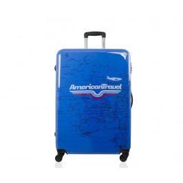 Cestovní kufr Times Square Print M