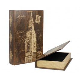 Sada 2 krabic ve tvaru knihy Big Ben
