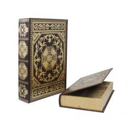 Sada 2 krabic ve tvaru knihy Byzantine Book
