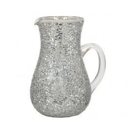Dekorační džbán Silver Mosaic