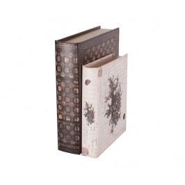 Sada 2 krabic ve tvaru knihy Edward