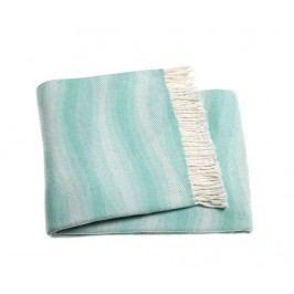Pléd Waves Pastel Blue 140x180 cm