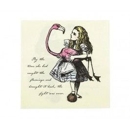 Sada 20 ubrousků Flamingo and Alice