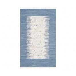 Koberec Saltillo Ivory Dark Blue 121x182 cm