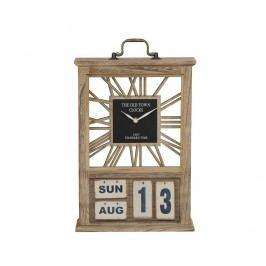 Stolní hodiny a kalendář The Old Town