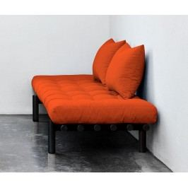 Lavička Pace Black and Orange