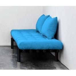 Lavička Pace Black and Horizon Blue