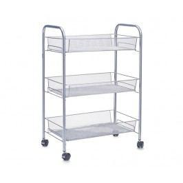 Úložný vozík Mesh Silver