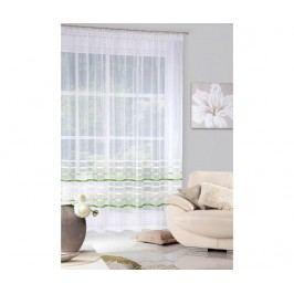 Záclona Gabi Cream Green 295x250 cm