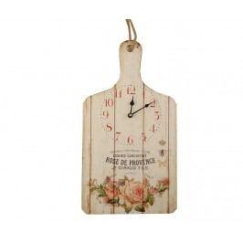 Nástěnné hodiny Rose De Provence