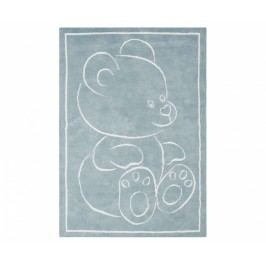 Koberec Teddy Bear Blue 100x150 cm