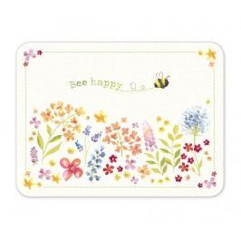 Sada 4 prostírání Bee Happy 21.5x29 cm