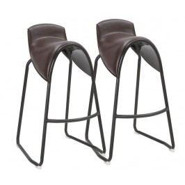 Sada 2 barových židlí Texas