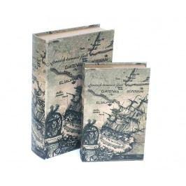 Sada 2 krabic ve tvaru knihy El Salvador