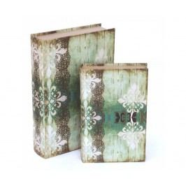 Sada 2 krabic ve tvaru knihy Model