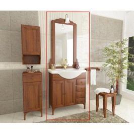 Třídílná sada nábytku do koupelny Fiorenza Brown