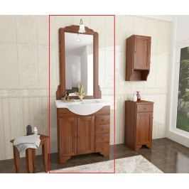 Třídílná sada nábytku do koupelny Delia