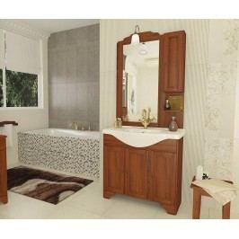 Čtyřdílná sada nábytku do koupelny Stefania Koupelnové skříňky