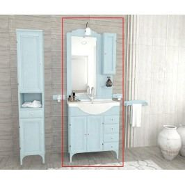 Čtyřdílná sada nábytku do koupelny Chiara