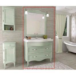 Třídílná sada nábytku do koupelny Daiana Green