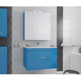 Třídílná sada nábytku do koupelny Fly Inside Blue
