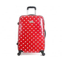 Cestovní kufr na kolečkách Bethune Red S
