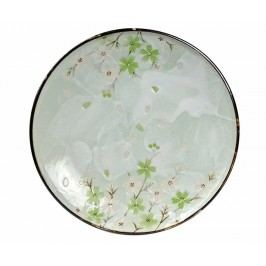 Mělký talíř Cosmos Green