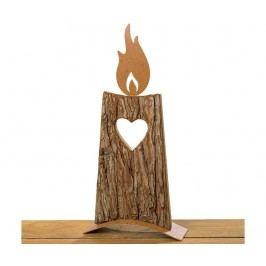 Dekorace Heart Flame