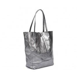 Kabelka Metalic Grey