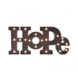 Nástěnná světelná dekorace Hope