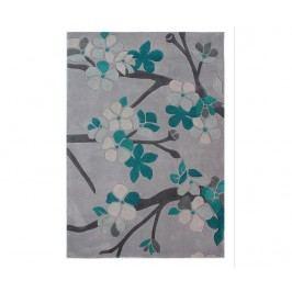 Koberec Sakura Teal 120x170cm