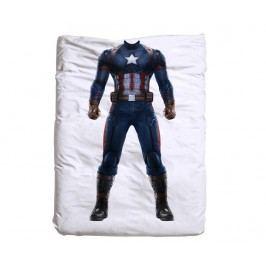 Povlak na peřinu Captain America 140x200 cm