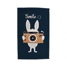 Kobereček Smile Rabbit 90x140 cm