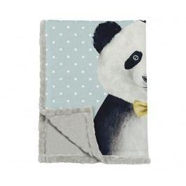 Pléd Panda 124x166 cm