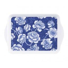 Servírovací podnos Indigo Blue Roses Scatter