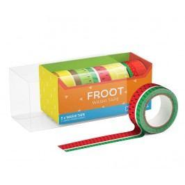 Sada 5 dekoračních pásek Froot Washi
