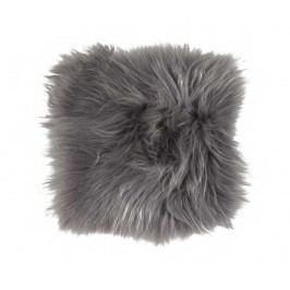 Jehněčí kožešina Icelandic Grey 37x37 cm