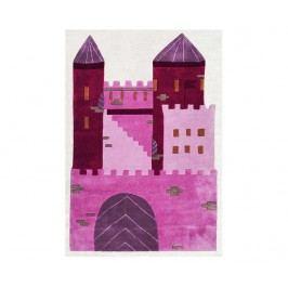 Koberec Princess Castle Pink 120x180 cm