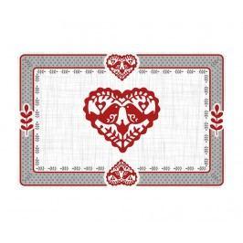 Prostírání Jolly Hearts 43x29 cm