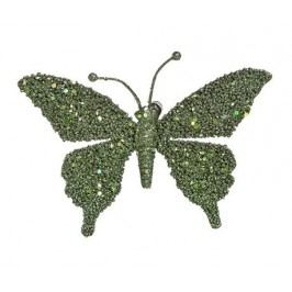 Dekorace Butterfly Glitter