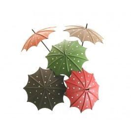 Sada 5 zahradních dekorací Umbrella Pick