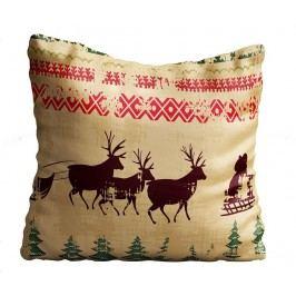 Dekorační polštář Vintage Christmas 43x43 cm