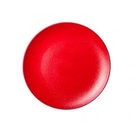 Mělký talíř Dazzle Red Round